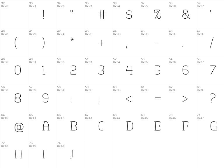 Springsteel Serif Thin