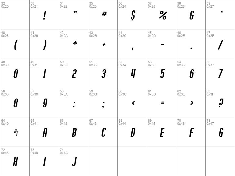 SF Willamette Italic
