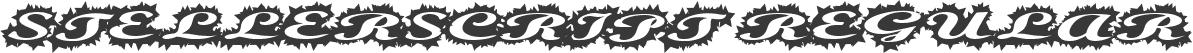 StellerScript Regular