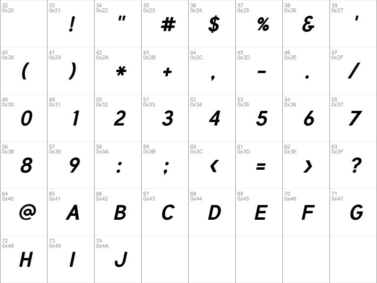 Tuffy Bold-Italic