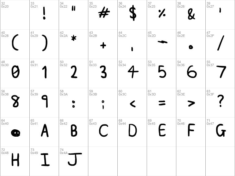 A plainer font Regular