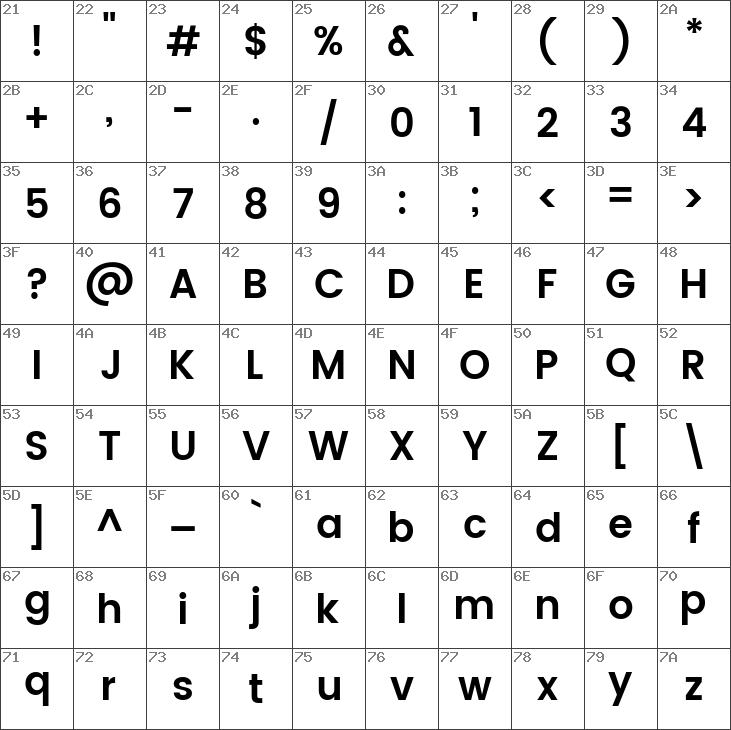 Download free Poppins SemiBold Regular font | dafontfree net
