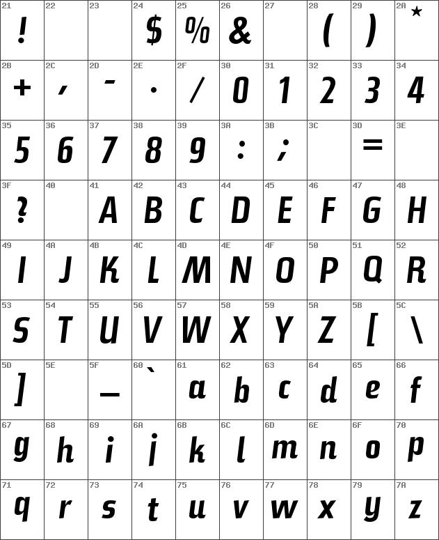 Download free Steile Futura BQ Regular font | dafontfree net
