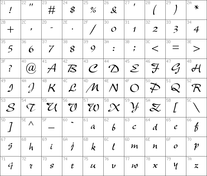 new berolina mt std font