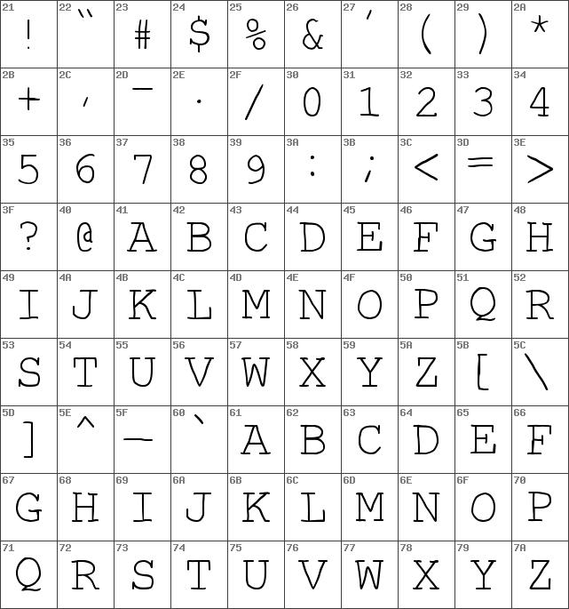 Download free Autumn Regular font | dafontfree net
