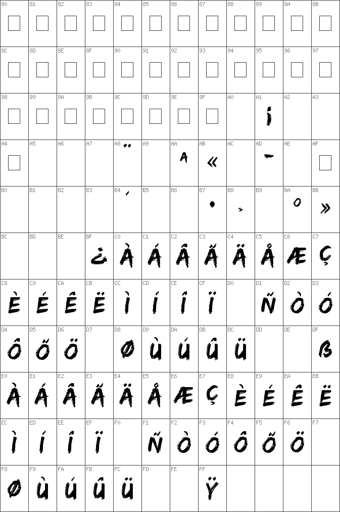 Download free Edo SZ Regular font | dafontfree net