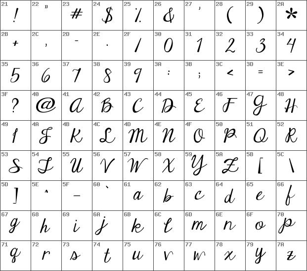 Download Free Janda Elegant Handwriting Regular Font Dafontfree Net