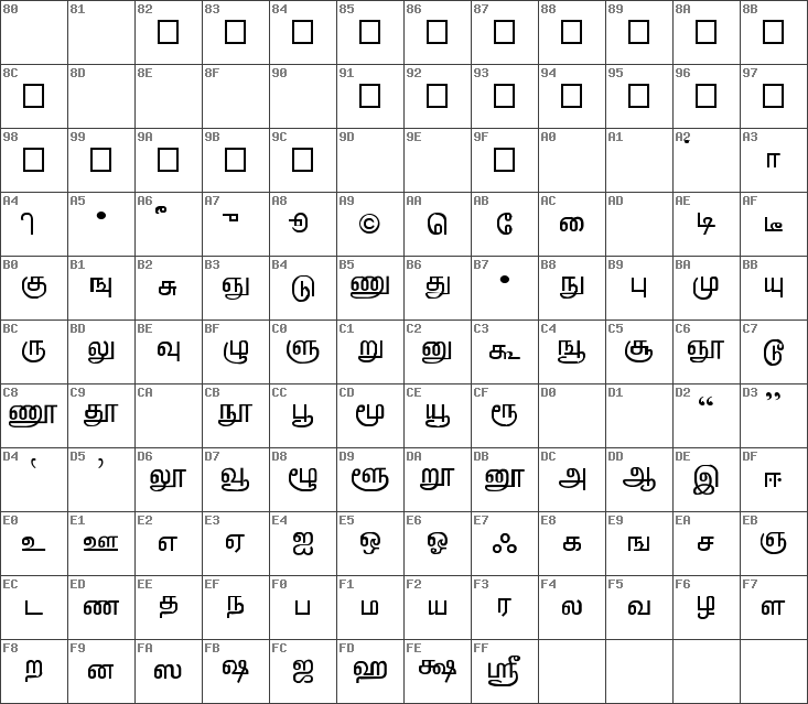 Download free TAB-LT-Lakshman Regular font   dafontfree net
