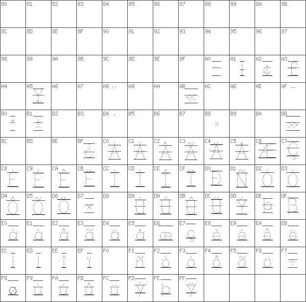 Download free KG Primary Dots Lined Regular font