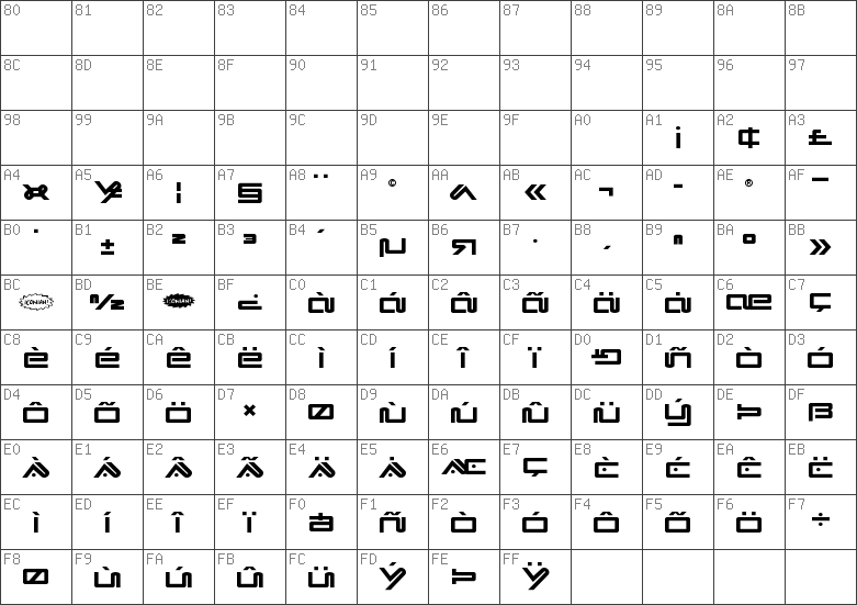 Char Unicode Xephyr Title Regular