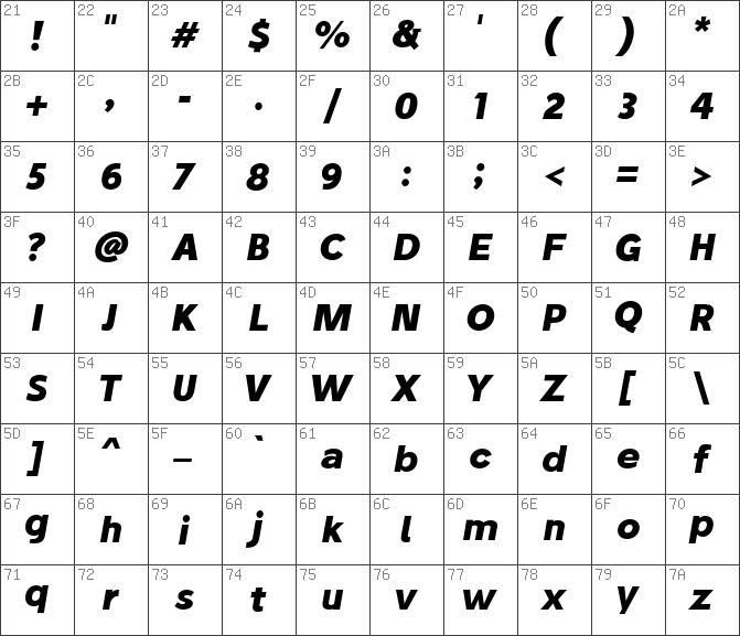 Download free Stilu Bold Oblique font | dafontfree net